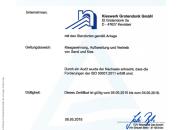 Deutsche Kieswerke ISO 50001 zertifiziert