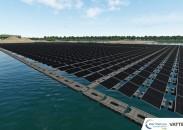 Vattenfall baut den ersten schwimmenden Solarpark