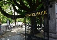 Achterhoeks Padvast im Amsterdamer Vondelpark